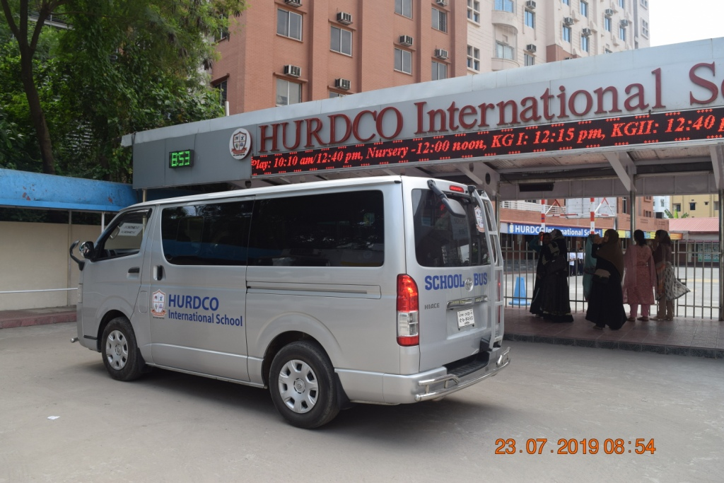 Newly introduced air-conditioned School Bus – HURDCO